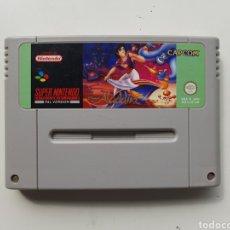 Jeux Vidéo et Consoles: ALADDIN SUPER NINTENDO SNES. Lote 246159045