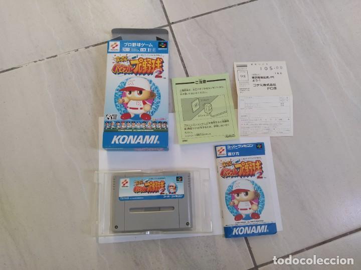 JIKKYOU POWERFUL PRO YAKYUU 2 SNES SUPER NINTENDO FAMICOM JAPAN (Juguetes - Videojuegos y Consolas - Nintendo - SuperNintendo)