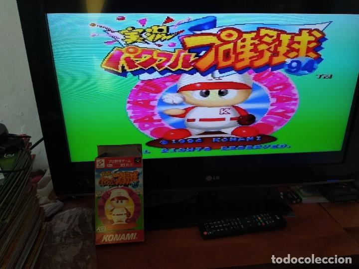 Videojuegos y Consolas: JUEGO JIKKYOU POWERFUL PRO YAKYUU 94 SNES SUPER NINTENDO FAMICOM JAPAN - Foto 2 - 246198015