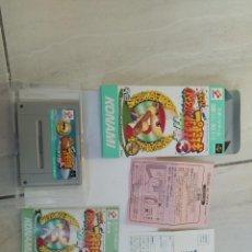 Videojuegos y Consolas: JIKKYOU POWERFUL PRO YAKYUU 3 97 HARU SNES SUPER NINTENDO FAMICOM JAPAN. Lote 246198425