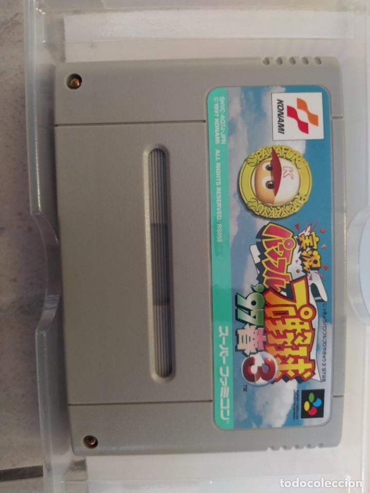 Videojuegos y Consolas: JIKKYOU POWERFUL PRO YAKYUU 3 97 HARU SNES SUPER NINTENDO FAMICOM JAPAN - Foto 3 - 246198425