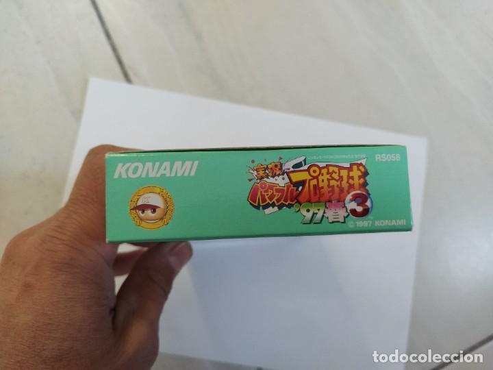 Videojuegos y Consolas: JIKKYOU POWERFUL PRO YAKYUU 3 97 HARU SNES SUPER NINTENDO FAMICOM JAPAN - Foto 12 - 246198425