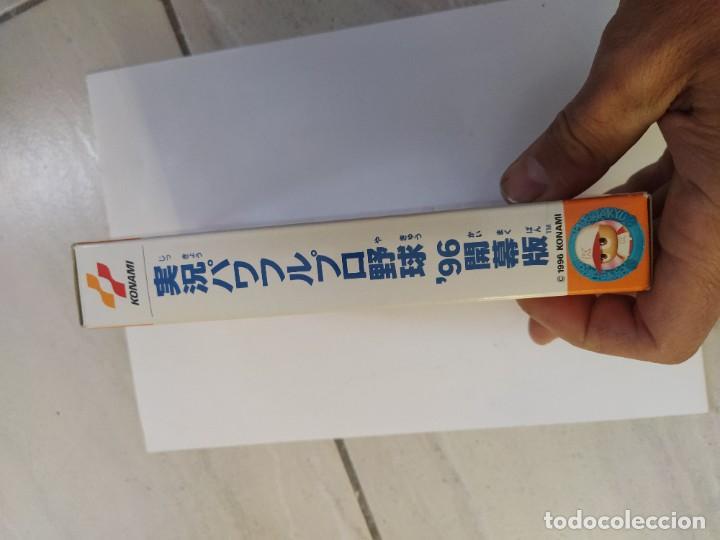 Videojuegos y Consolas: JIKKYOU POWERFUL PRO YAKYUU 96 KAIMAKUBAN SNES SUPER NINTENDO FAMICOM JAPAN - Foto 11 - 246198535