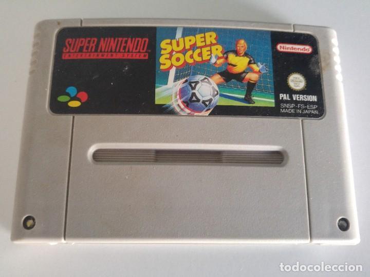 SUPER SOCCER SNES SUPER NINTENDO PAL-ESPAÑA (Juguetes - Videojuegos y Consolas - Nintendo - SuperNintendo)