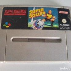 Videojuegos y Consolas: SUPER SOCCER SNES SUPER NINTENDO PAL-ESPAÑA. Lote 246200745