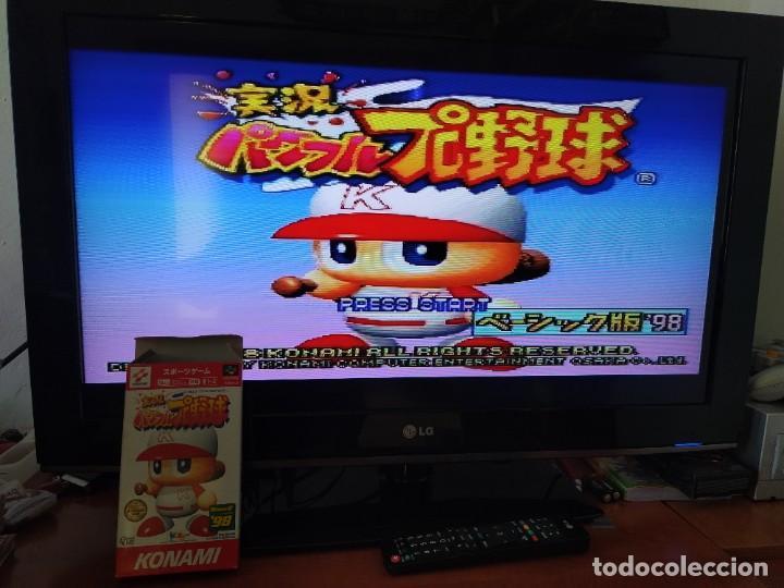 Videojuegos y Consolas: JIKKYOU POWERFUL PRO YAKYUU BASIC HAN 98 SNES SUPER NINTENDO FAMICOM JAPAN - Foto 2 - 246201290