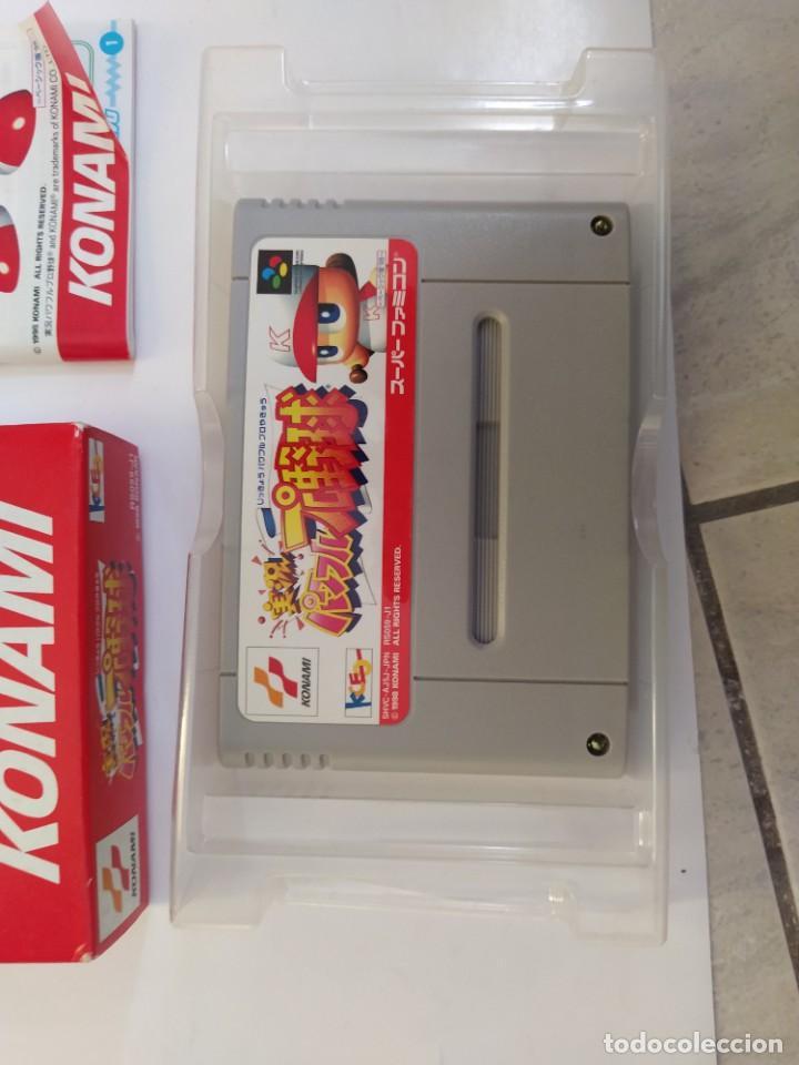 Videojuegos y Consolas: JIKKYOU POWERFUL PRO YAKYUU BASIC HAN 98 SNES SUPER NINTENDO FAMICOM JAPAN - Foto 3 - 246201290