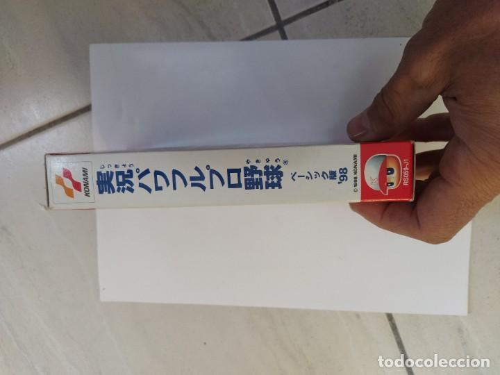 Videojuegos y Consolas: JIKKYOU POWERFUL PRO YAKYUU BASIC HAN 98 SNES SUPER NINTENDO FAMICOM JAPAN - Foto 10 - 246201290