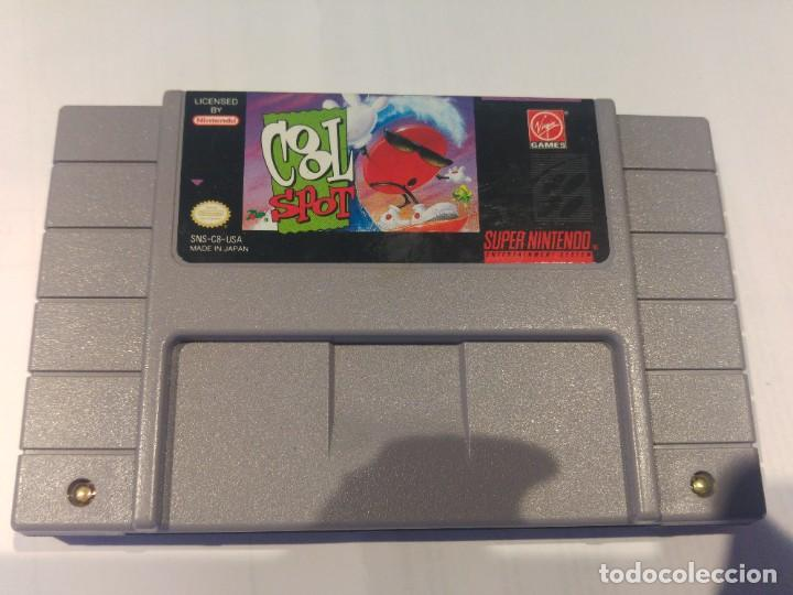 COOL SPOT SNES SUPER NINTENDO NTSC-USA ORIGINAL 100% (Juguetes - Videojuegos y Consolas - Nintendo - SuperNintendo)