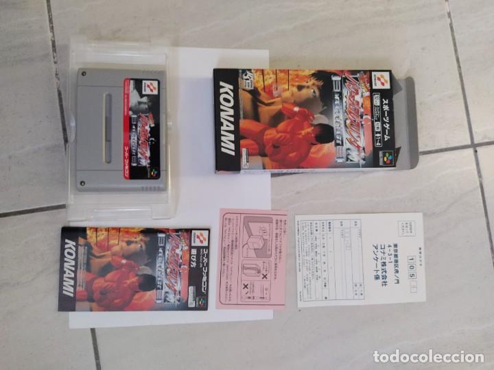 PRO WRESTLING 96 MAX VOLTAGE SNES SUPER NINTENDO FAMICOM JAPAN COMPLETO (Juguetes - Videojuegos y Consolas - Nintendo - SuperNintendo)