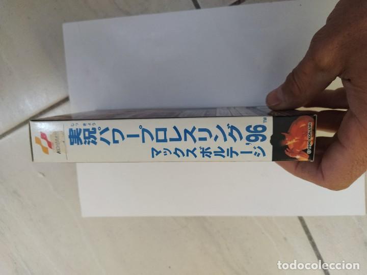 Videojuegos y Consolas: PRO WRESTLING 96 MAX VOLTAGE SNES SUPER NINTENDO FAMICOM JAPAN COMPLETO - Foto 11 - 246203150