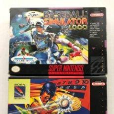 Videojuegos y Consolas: PACK DOS JUEGOS DE SUPER NINTENDO SNES KREATEN. Lote 246225555