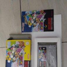 Videojuegos y Consolas: POP'N TWIN BEE SNES SUPER NINTENDO PAL-NOE EN ALEMAN ORIGINAL 100%. Lote 246281290