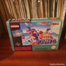Videojuegos y Consolas: SUPER PANG / SUPERNES. Lote 246284640