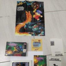 Videojuegos y Consolas: GRADIUS 3 III SNES SUPER NINTENDO NTSC-USA ORIGINAL 100%. Lote 246306525