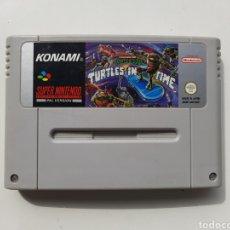 Videojuegos y Consolas: TURTLES IN TIME IV SUPER NINTENDO SNES. Lote 246319600