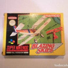 Videojuegos y Consolas: BLAZING SKIES - JUEGO SUPERNINTENDO - SNES. Lote 246321085