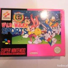 Videojuegos y Consolas: WILD & WACKY SPORTS - JUEGO SUPERNINTENDO - SNES. Lote 246322150