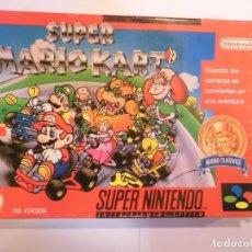 Videojuegos y Consolas: SUPER MARIO KART - JUEGO SUPERNINTENDO - SNES. Lote 246324230