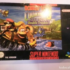 Videojuegos y Consolas: DONKEY KONG COUNTRY 3 DIXIE, KONG'S DOUBLE TROUBLE - JUEGO SUPERNINTENDO - SNES. Lote 246325410