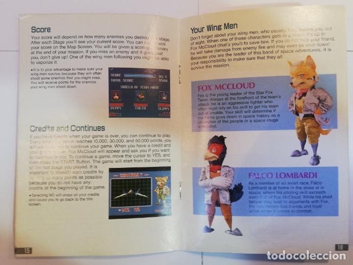 Videojuegos y Consolas: STARFOX - JUEGO SUPERNINTENDO - SNES - Foto 4 - 276694318
