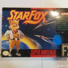 Videojuegos y Consolas: STARFOX - JUEGO SUPERNINTENDO - SNES. Lote 246327385