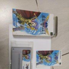 Videojuegos y Consolas: ALBERT ODYSSEY SUPER FAMICOM SFC SNES SUPER NINTENDO ORIGINAL 100% COMPLETO. Lote 246370185