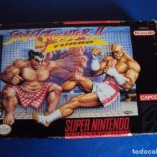 Videojuegos y Consolas: (JU-210310)SUPER STREET FIGHTER II 2 TURBO SUPER NINTENDO SNES. Lote 246637160
