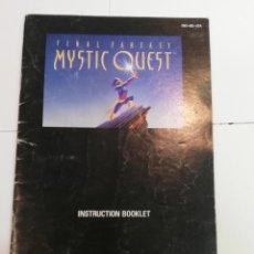 Videojuegos y Consolas: MANUAL INSTRUCCIONES FINAL FANTASY MYSTIC QUEST - SNES. Lote 246641790