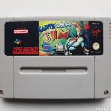 Jeux Vidéo et Consoles: EARTHWORM JIM SUPER NINTENDO SNES. Lote 247797555