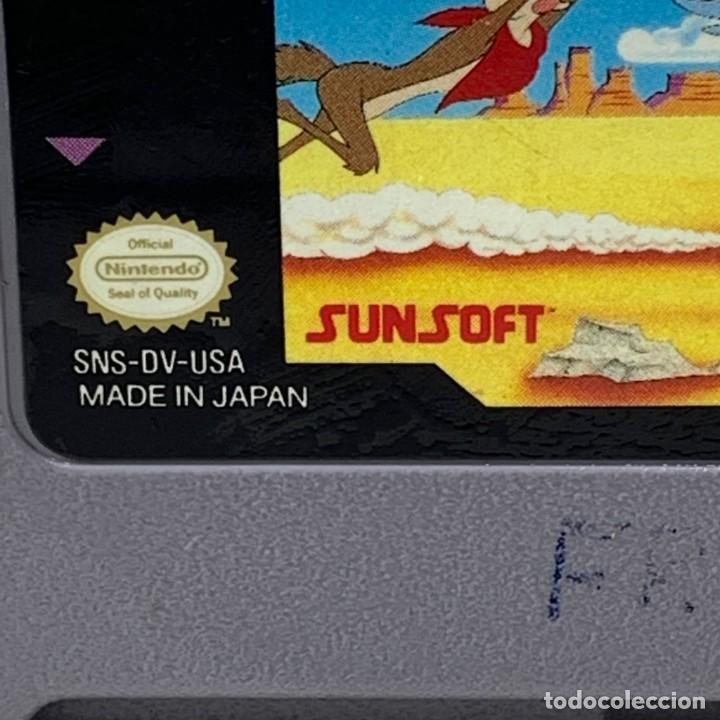 Videojuegos y Consolas: VIDEOJUEGO NINTENDO - SUPER NINTENDO - ROAD RUNNERS DEATH VALLEY RALLY - USA - Foto 2 - 248478860