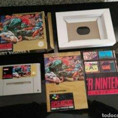 Videojuegos y Consolas: STREET FIGHTER 2 SUPER NINTENDO COMPLETO. Lote 250347830