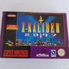 Videojuegos y Consolas: X-KALIBER 2097 SNES SUPER NINTENDO SUPERNES SUPERNINTENDO NES. Lote 254850060