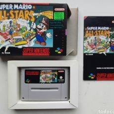 Videojuegos y Consolas: SUPER MARIO ALL STARS SUPER NINTENDO SNES. Lote 254919270