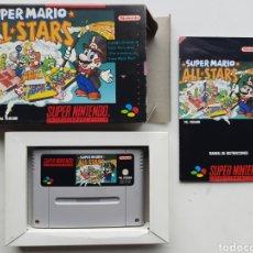 Videojuegos y Consolas: SUPER MARIO ALL STARS SUPER NINTENDO SNES. Lote 254919600