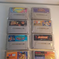Videojuegos y Consolas: PACK 8 JUEGOS SUPER FAMICOM NTSC-J SFC. Lote 254950575