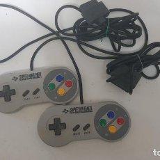 Videojuegos y Consolas: DOS MANDOS SÚPER NINTENDO. Lote 255332285