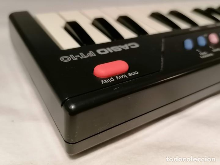Videojuegos y Consolas: Organo Casio PT-10 Vintage Funcionando - Foto 3 - 255941455