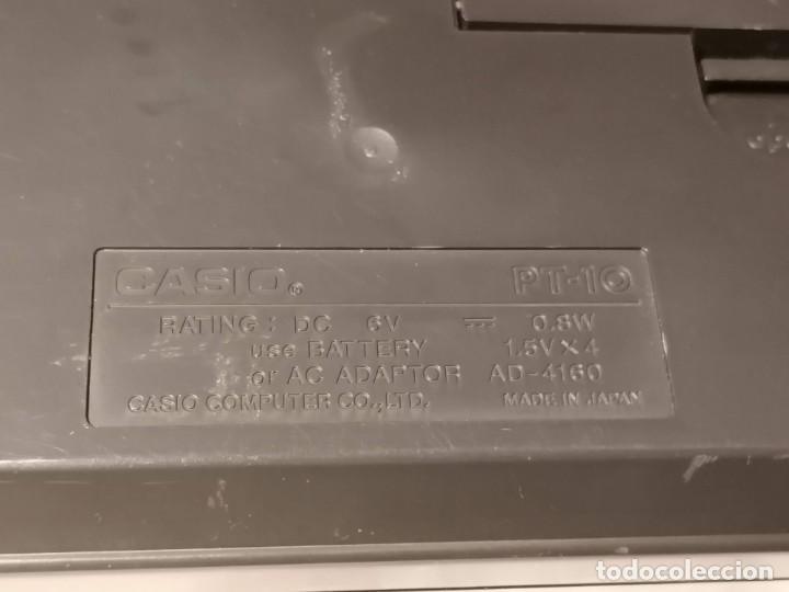 Videojuegos y Consolas: Organo Casio PT-10 Vintage Funcionando - Foto 8 - 255941455