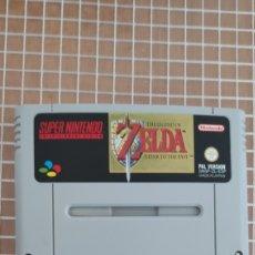Videojuegos y Consolas: SNES THE LEGEND OF ZELDA A LINK TO THE PAST PAL ESPAÑA SUPER NINTENDO CARTUCHO. Lote 256039065