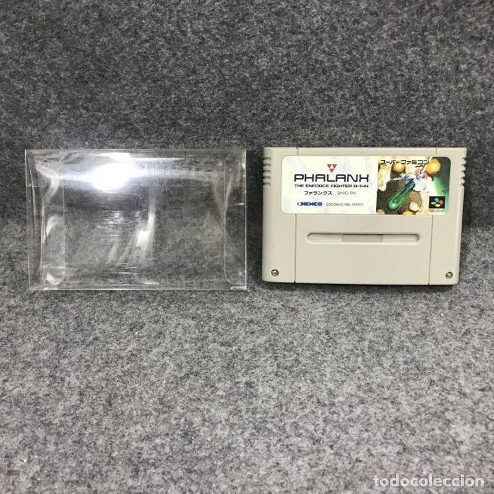 PHALANX JAP SUPER FAMICOM NINTENDO (Juguetes - Videojuegos y Consolas - Nintendo - SuperNintendo)