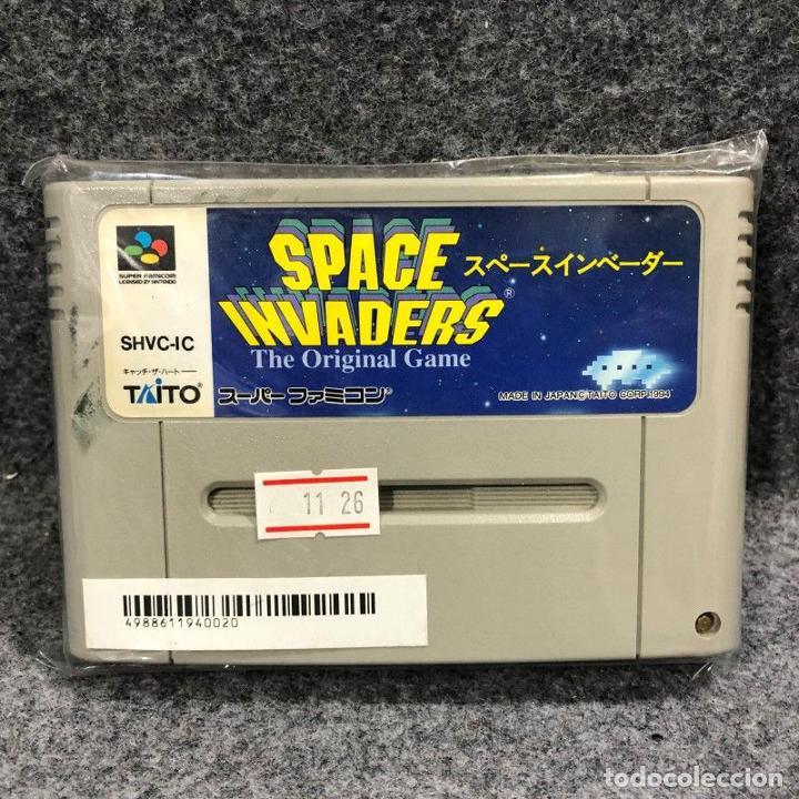 SPACE INVADERS THE ORIGINAL GAME JAP SUPER NINTENDO FAMICOM SNES (Juguetes - Videojuegos y Consolas - Nintendo - SuperNintendo)