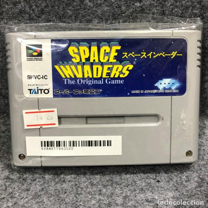 SPACE INVADERS THE ORIGINAL GAME JAP SUPER NINTENDO FAMICOM SNES (Juguetes - Videojuegos y Consolas - Nintendo - SuperNintendo)