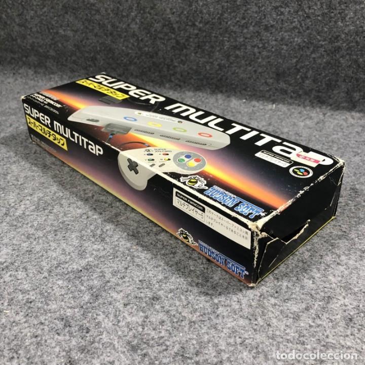 Videojuegos y Consolas: SUPER MULTITAP+SUPER BOMBER MAN JAP SUPER NINTENDO FAMICOM SNES - Foto 6 - 257555520