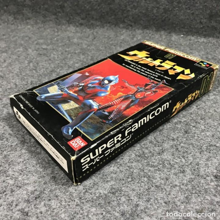 Videojuegos y Consolas: ULTRAMAN JAP SUPER FAMICOM NINTENDO SNES - Foto 2 - 261640845