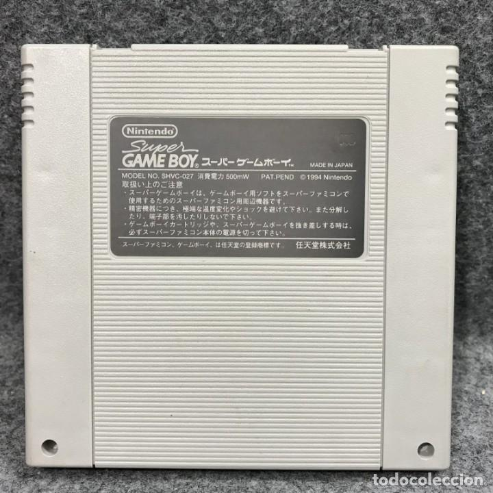 Videojuegos y Consolas: SUPER GAME BOY JAP SUPER FAMICOM NINTENDO SNES - Foto 2 - 261640870