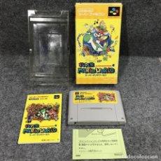 Videojuegos y Consolas: SUPER MARIO WORLD JAP SUPER FAMICOM NINTENDO SNES. Lote 261640890