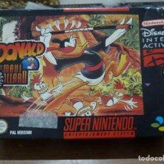 Videojuegos y Consolas: DONALD IN MAUI MALLARD PARA SUPER NINTENDO. Lote 261784890