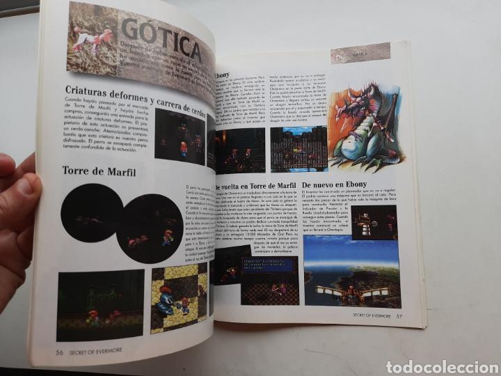 Videojuegos y Consolas: Manual guia Secret of Evermore SUPER NINTENDO SNES - Foto 4 - 261822550