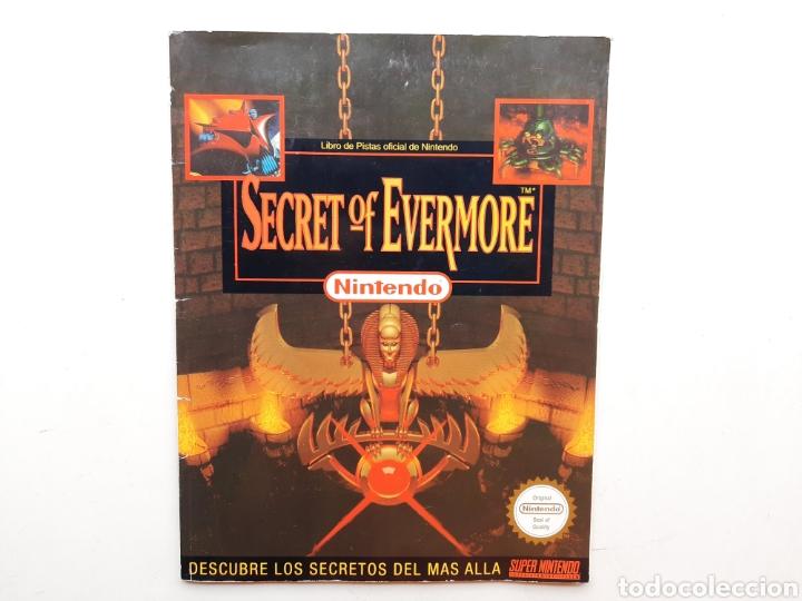 MANUAL GUIA SECRET OF EVERMORE SUPER NINTENDO SNES (Juguetes - Videojuegos y Consolas - Nintendo - SuperNintendo)